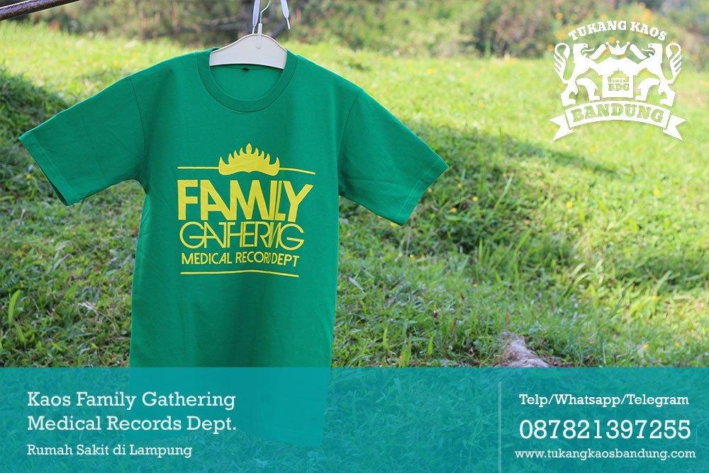 Kaos-Family-Gathering-Medical-Records-Dept-Rumah-Sakit-Lampung